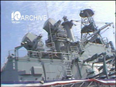 WAVY Archive: 1980 USS Albany Deactivation Ceremony