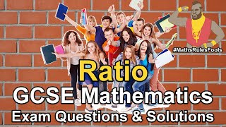 Ratio and Proportion - GCSE Maths Exam Questions