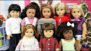 american girl doll house tour