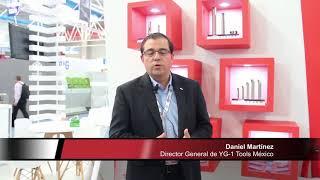 Daniel Martínez, Director General de YG-1 Tools México