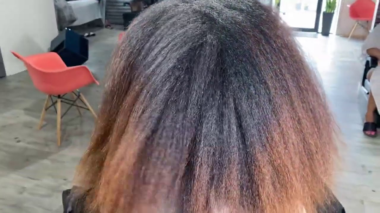 SHE ASK FOR A NATURAL FALL HAIR COLOR!