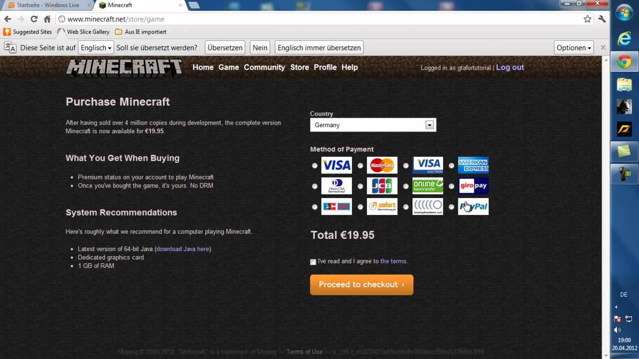 Minecraft download free german 64 bit