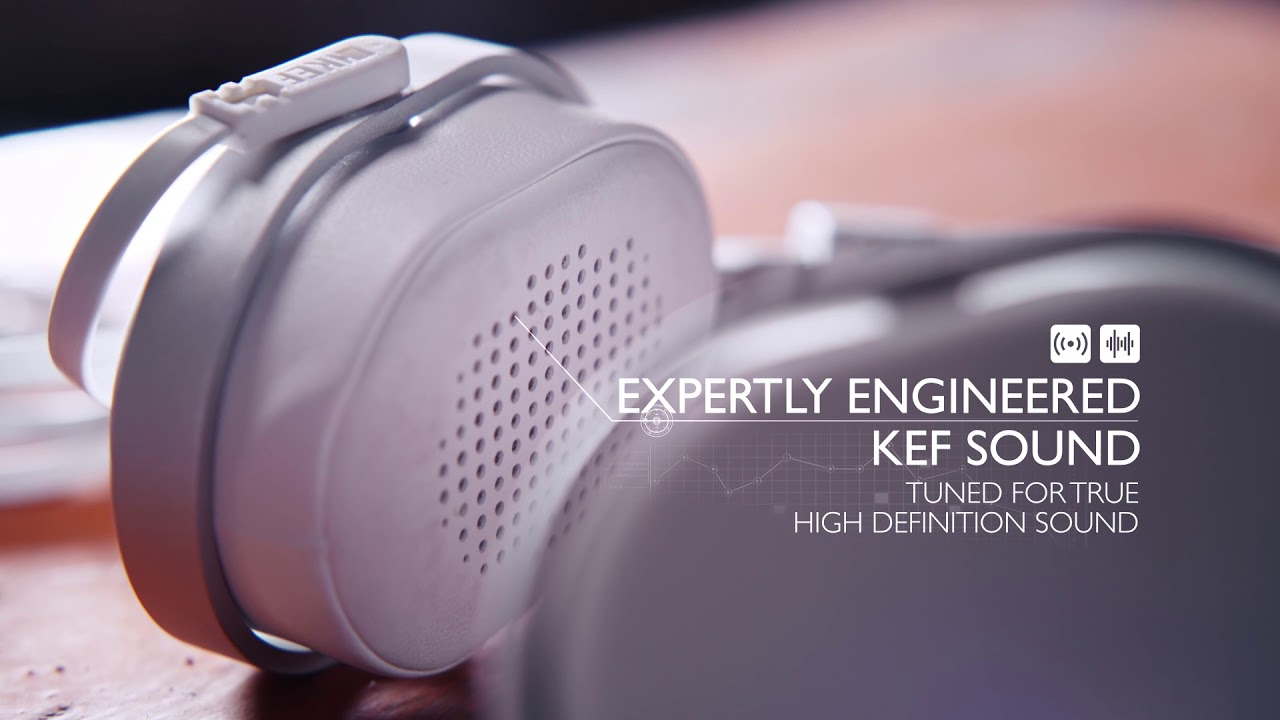 3761525bccb KEF M500 Headphones - YouTube