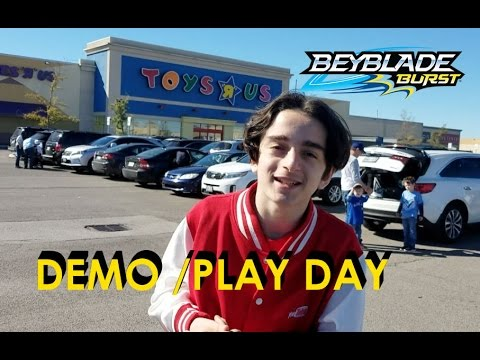 Beyblade Burst By Hasbro Demonstration Play Day Toys R Us Vaughan Mills Sep 24th 2016
