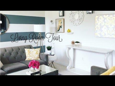 Living Room Tour 2018