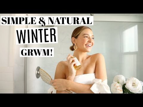 Winter GRWM! Natural Makeup & Skincare + Outfit!