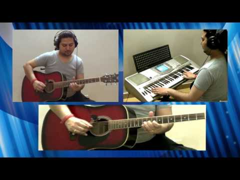 Hothon se Choo Lo tum on Guitar & Keyboard - Gazal (Hindi Instrumental Song)