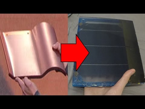 HOW TO: DIY Tesla Solar Roof Panel