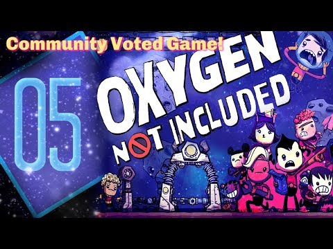 Pipes, Basic Farming, & A Supercomputer | Community Voted Game | Oxygen Not Included #5