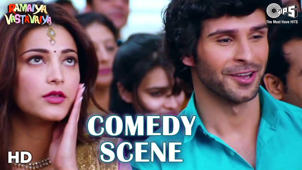 Comedy Scene from Ramaiya Vastavaiya | Girish Kumar | Shruti Haasan | Satish | Poonam |Tips Films