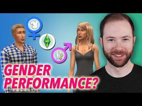 How Do We and The Sims Perform Gender?  | Idea Channel | PBS Digital Studios
