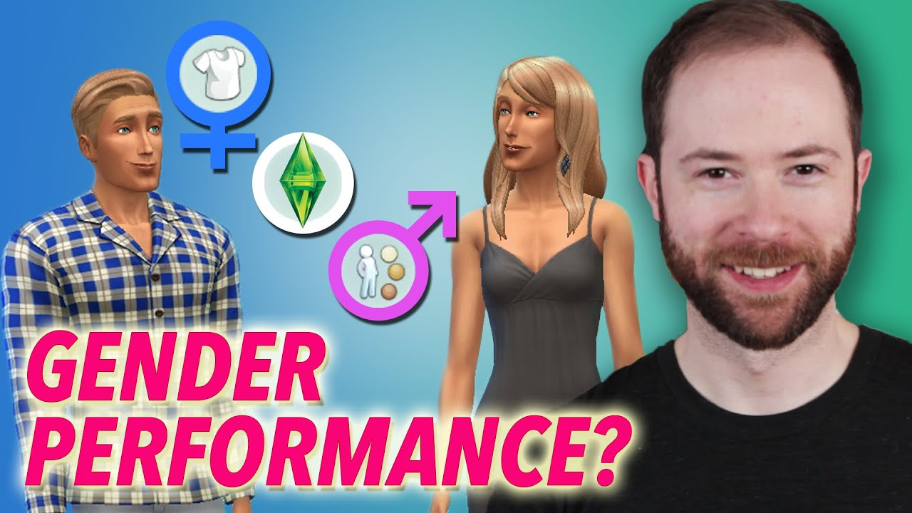 Sims 3 Character Design Ideas : How do we and the sims perform gender idea channel