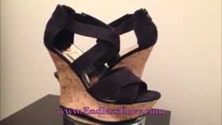 Women Fashion  Strap Wedges Sandals Shoes in Black at Endless Envy Boutique