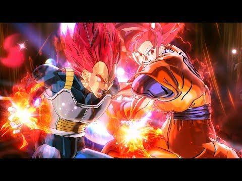 SSG Vegeta & SSG Goku! Prominence Kamehameha! - Dragon Ball Xenoverse 2