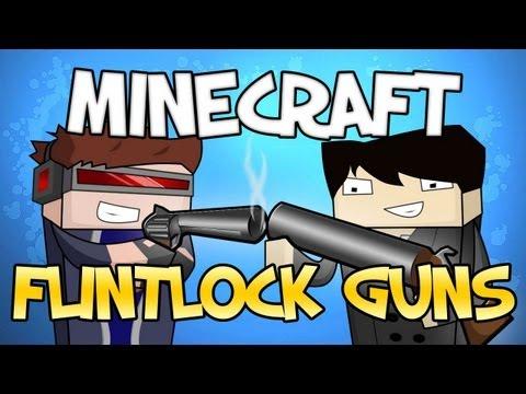 Minecraft Mod Showcase : Flintlock Weapons Mod