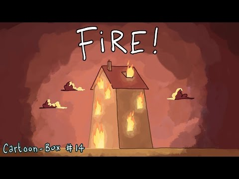 Cartoon-Box #14    FIRE!