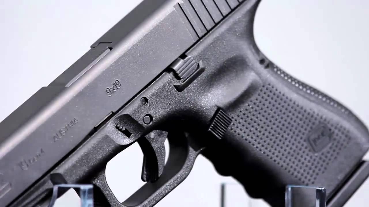 Gallery of Guns TV 2013: Glock 19 Gen 4 Semi Auto Pistol 9mm Fixed Sights