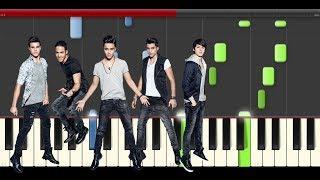 CNCO Para Enamorarte piano midi tutorial sheet partitura app cover karaoke