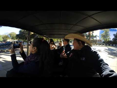 360 View 4K Dallas City Tour is giving guest from Argentina and McKinney tours in downtown