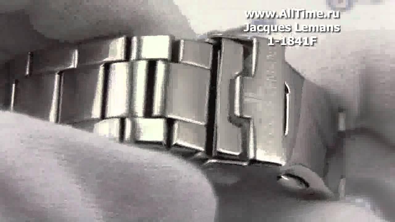 Jacques Lemans Milano 1-1997 женские часы - YouTube