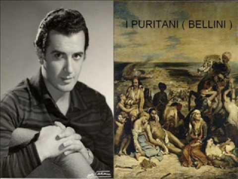 """FRANCO CORELLI  -  """"  A TE O CARA  """"   (  I  PURITANI  )   VINCENZO BELLINI"""