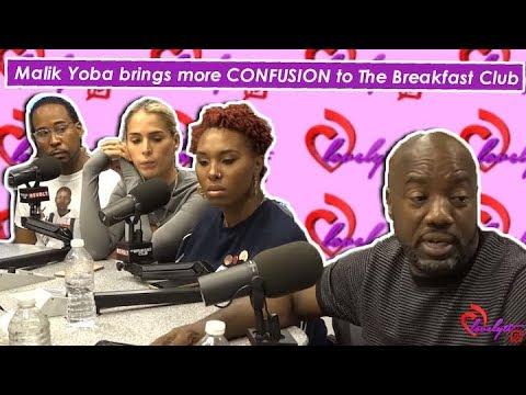 Malik Yoba's Breakfast Club interview has more DISLIKES than Likes~I'M STRAIGHT NOT GAY! #breakdown