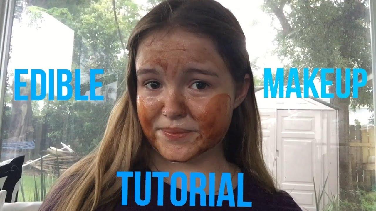 EDIBLE MAKEUP TUTORIAL - YouTube