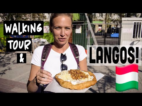 BUDAPEST FREE WALKING TOUR | And Of Course Hungarian Street Food!!