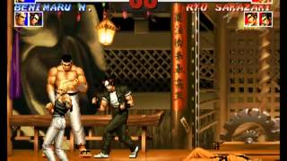 Mame  킹 오브 파이터즈 95 최고난이도 일본팀 원코인 The King Of Fighters 95 Japan Team Hardest 1co