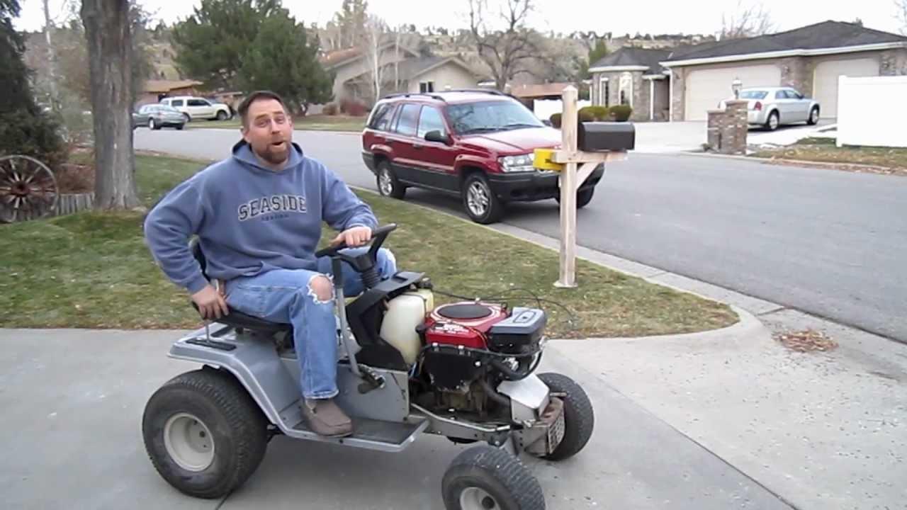 Tractor Stuff Best Lawn Tractor Mower Wheelies YouTube