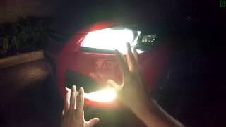 Ford Kuga - ночной обзор