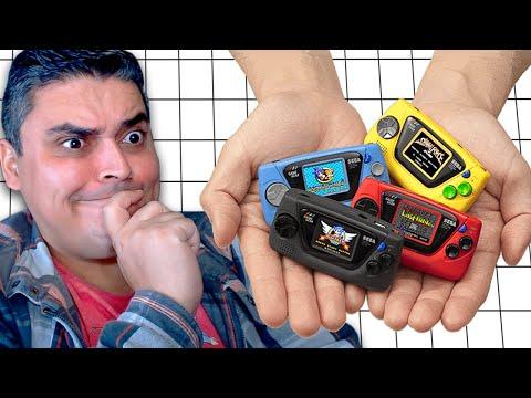 "Game Gear Micro Chegando e o ""Stadia"" da Sega"