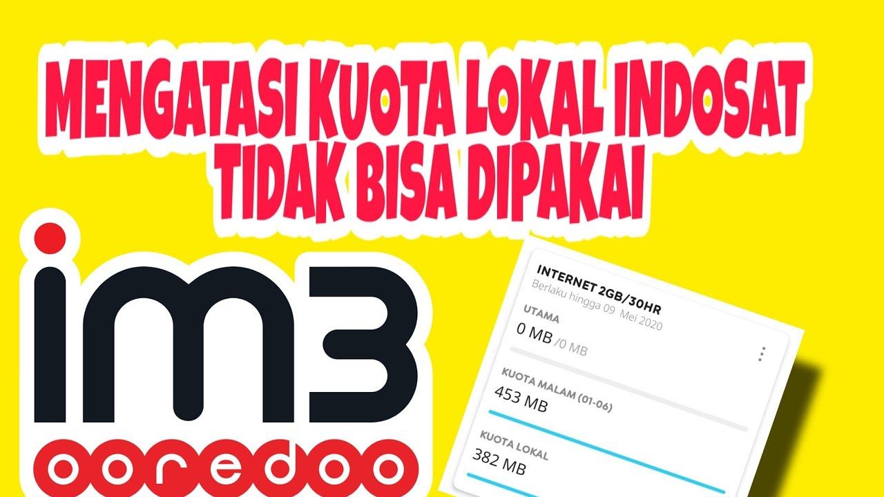 Cara Mengatasi Kuota Lokal Im3 Indosat Ooredoo Tidak Bisa Dipakai Youtube