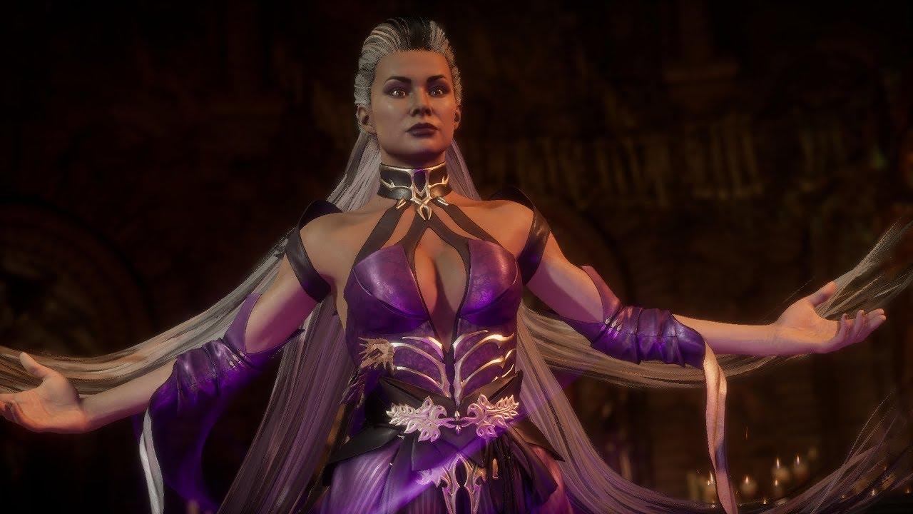 Mortal Kombat 11 Sindel Vs Kitana Kahn Youtube