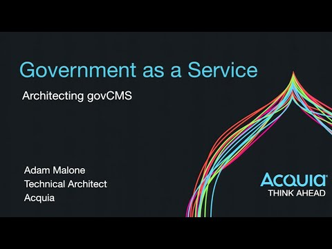 Government as a Service, Architecting govCMS