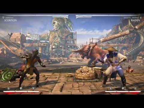 Mortal Kombat X ▬ Aprende a jugar con Scorpion ▬ Combo de 37% de daño
