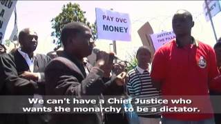 Judiciary crisis deepens in Swaziland