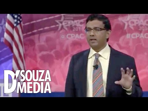 "D'Souza Wows CPAC Crowd With ""Hillary's America"" Trailer"