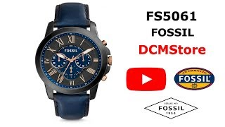 FS5061 Fossil Grant Blue Dial ...... DCMStore