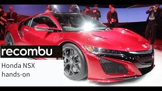 Honda NSX production version - hands-on