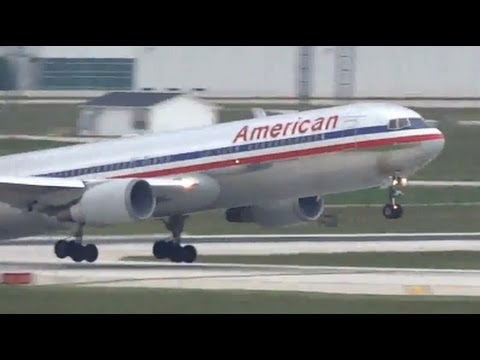 Heavy Aircraft Action - Airliners at Chicago O