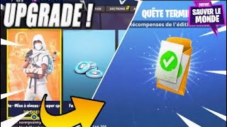 [FORTNITE SAUVER THE WORLD] UPGRADE OF SUPER SPECIAL PACK TO LIMITÉ