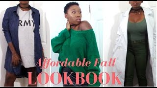 Affordable Fall Lookbook | Thrift Store Haul