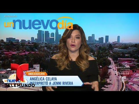 Angélica Celaya se despide de su papel de Jenni Rivera  Un Nuevo Día  Telemundo