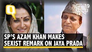 Azam Khan Makes Sexist Remarks on Jaya Prada, FIR Filed Against Him | The Quint