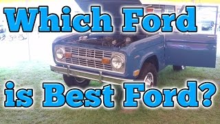 Which Ford is Best Ford?