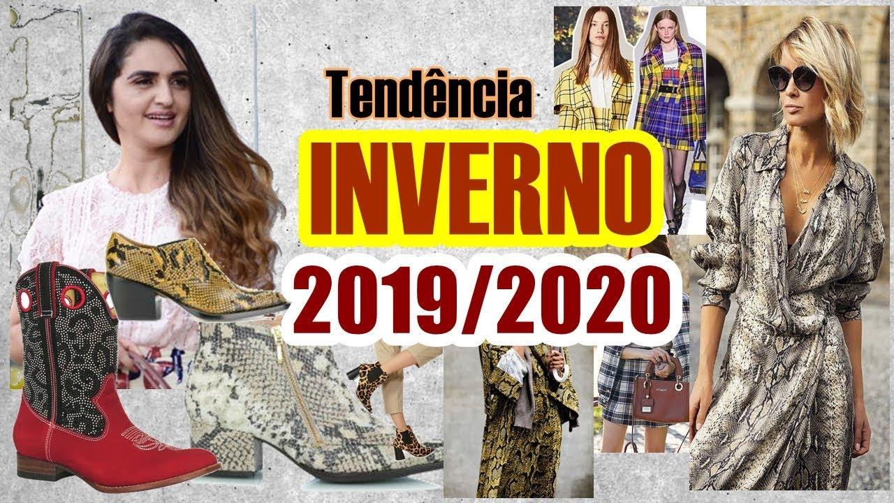 370f9cf46 Tendência INVERNO 2019/2020 - YouTube