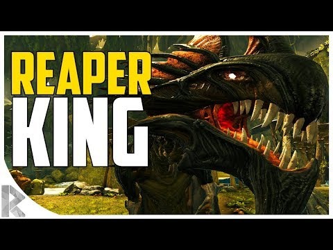 KILLING A REAPER KING! - Exploring the Surface - Ark Aberration Expansion Pack DLC EP#14