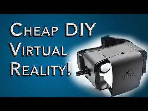 DIY Virtual Reality HMD For $30! Mobile VR Update: PC Games On Google Cardboard
