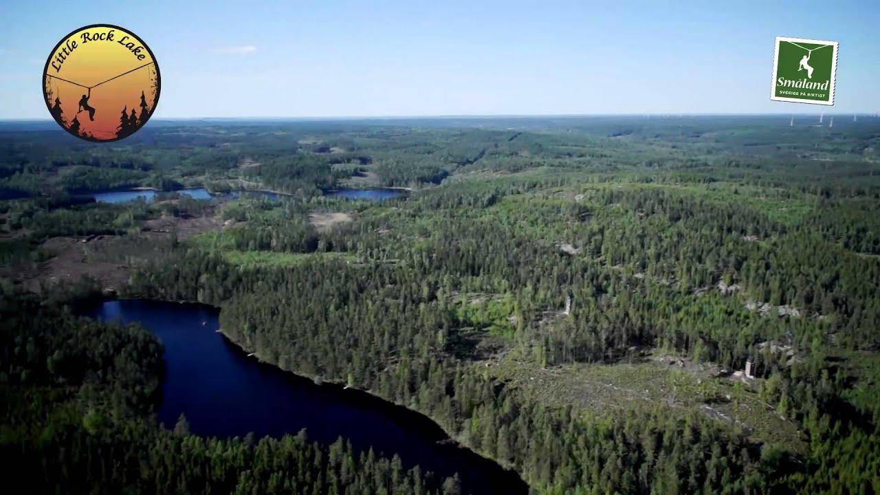 Kort Introduktion Sweden Zipline Little Rock Lake Youtube